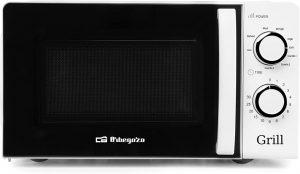 Microondas blanco con grill orbegozo