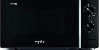 Microondas negro Whirlpool negro