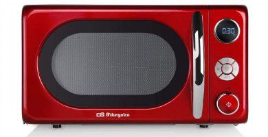 mejor microondas rojo 2021